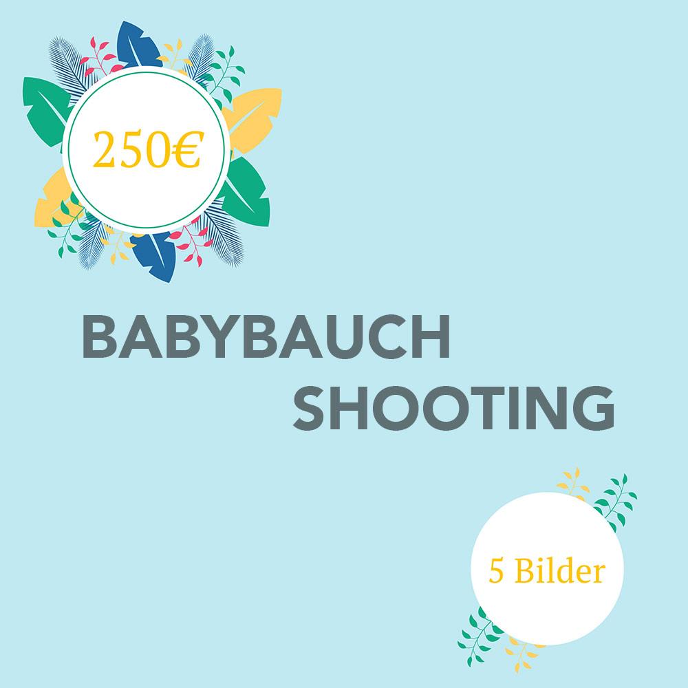 Babybauch Shooting Muenchen 5 Bilder